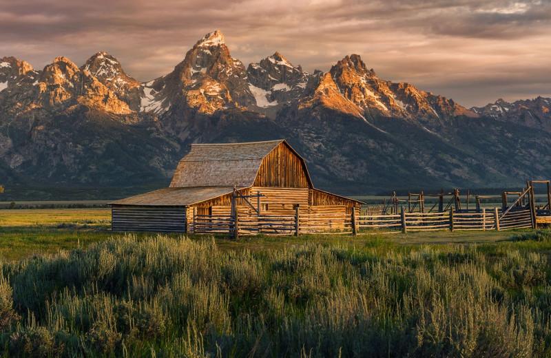 Mountains near Wyoming Inn of Jackson Hole.