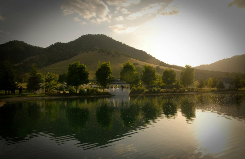 Lake view at Wonder Valley Ranch Resort