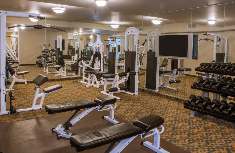 Fitness at Dolphin Bay Resort & Spa.