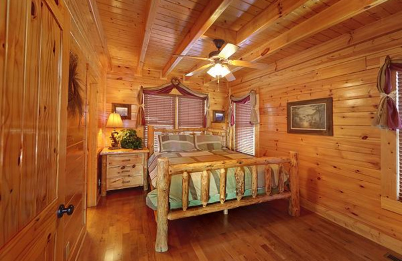 Upstairs king master suite.