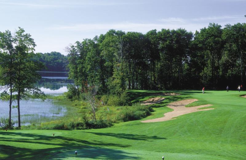 Golf at Cragun's Resort and Hotel on Gull Lake.