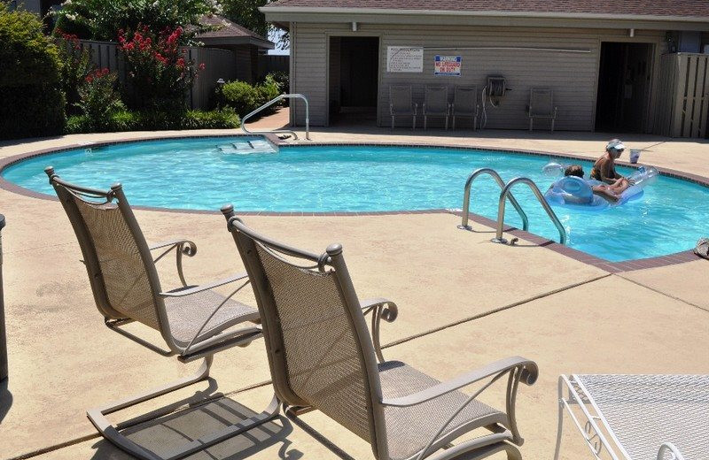 Rental pool at BlueSky Vacation Homes.