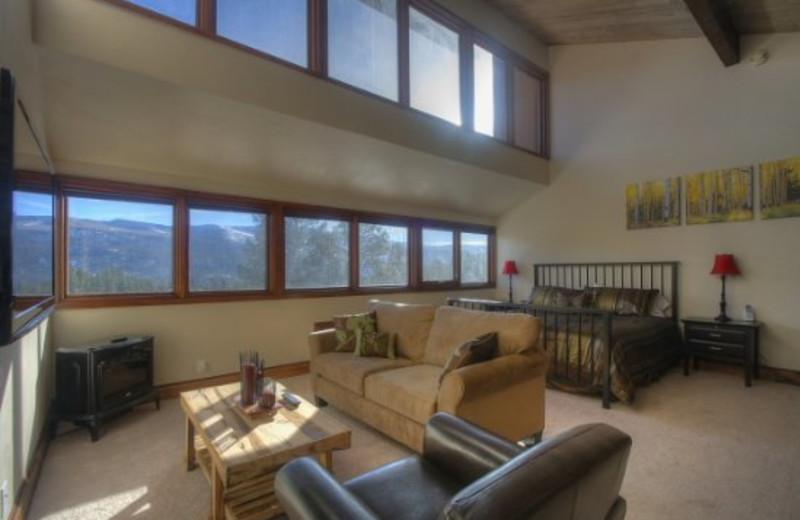 Vacation rental interior at Tamarron Vacation Rentals.