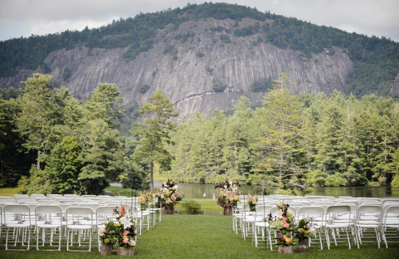 Weddings at High Hampton Inn & Country Club.