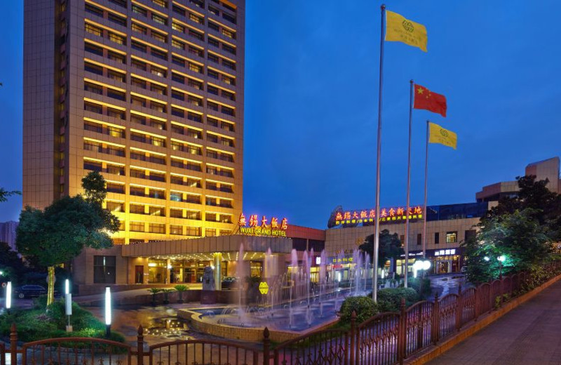 Guest suite at Pan Pacific Wuxi Grand Hotel Wuxi.