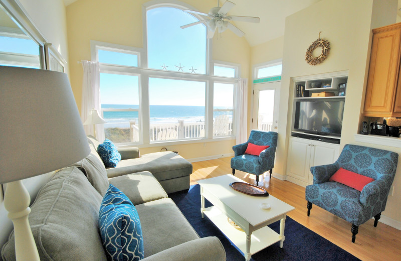 Rental living room at Access Realty Group.