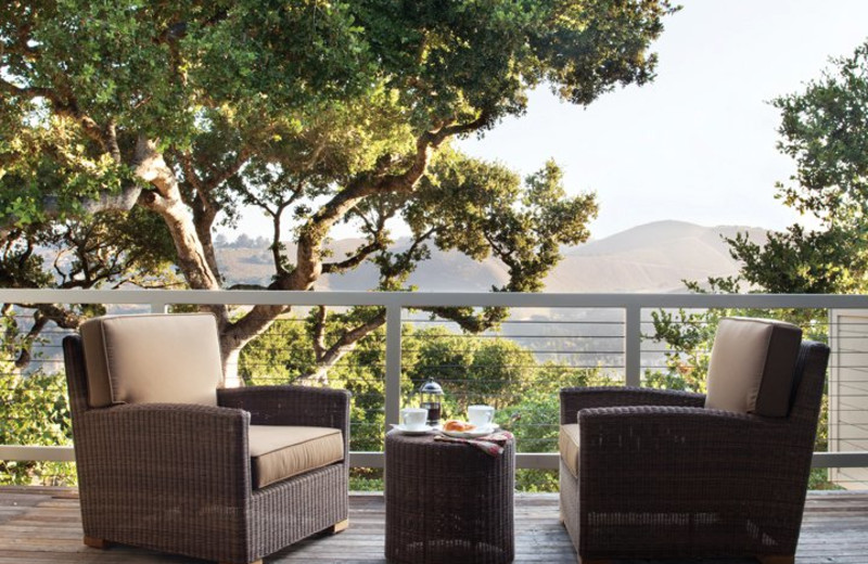 Private Patio at Carmel Valley Ranch