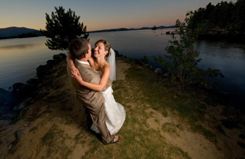 Wedding at New England Outdoor Center.
