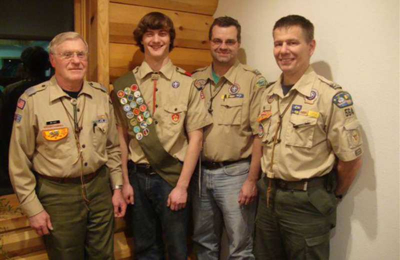 Group at Evergreen Lodge.