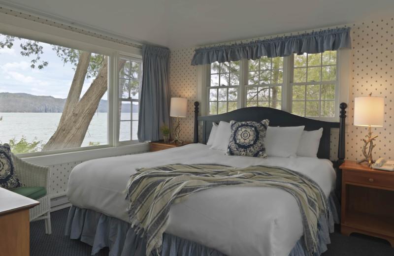 Cottage Interior at Basin Harbor.