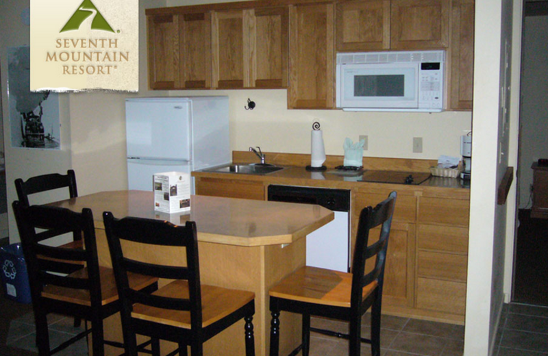 Townhome Kitchen at Seventh Mountain Resort