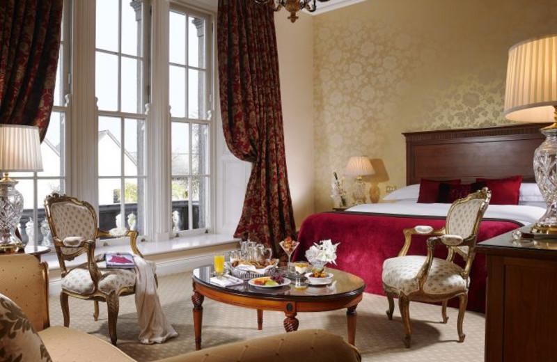 Guest room at Malton Hotel Leisure Centre.
