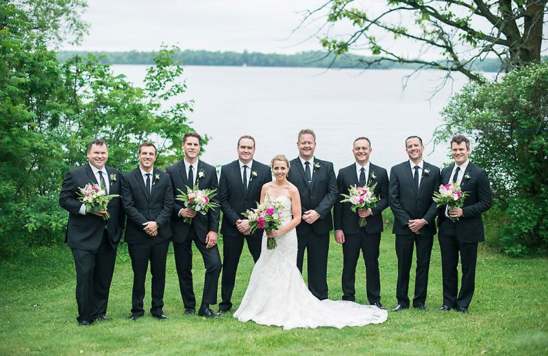 Wedding at Ruttger's Bay Lake Lodge.