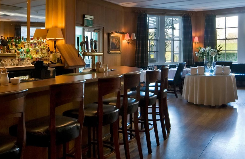 Bar at Dunraven Arms.