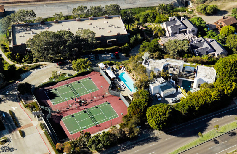 Resort Aerial of the Villa L'Auberge
