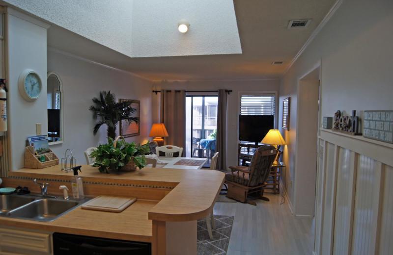 Rental interior at McMillan Real Estate.
