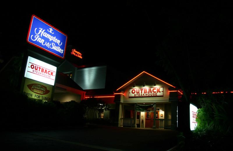 Outback Steakhouse next to Hampton Inn & Suites Islamorada.