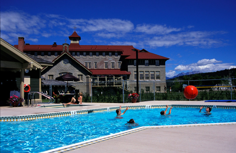 Outdoor pool at St. Eugene Golf Resort & Casino.