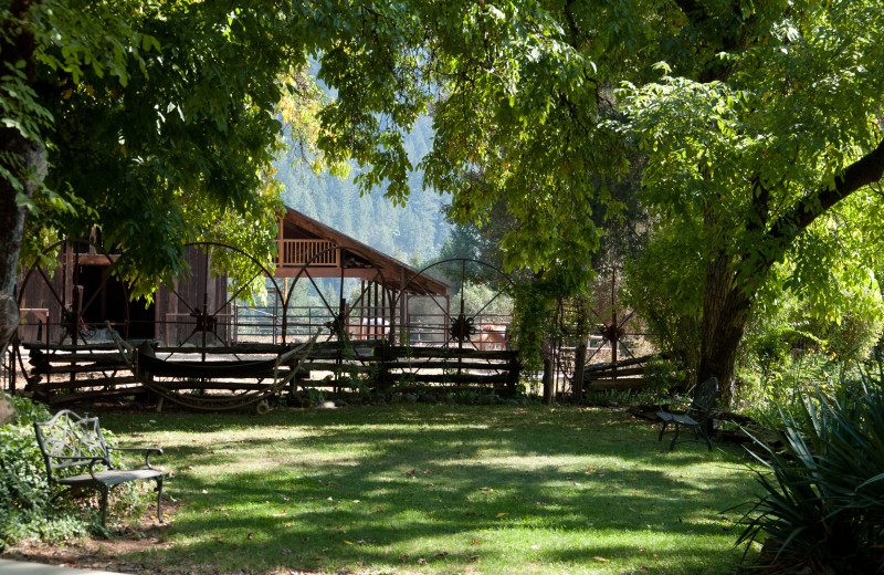 Exterior view of Marble Mountain Guest Ranch.