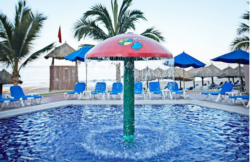 Children's Waterpark at  Barcelo Ixtapa Beach