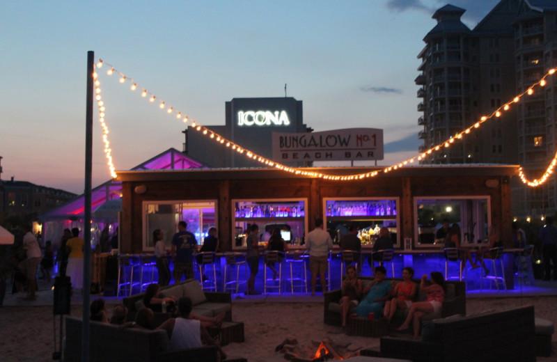 Beach bar near Icona Cape May.