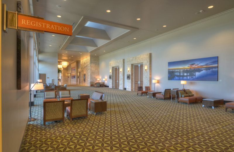 Conference center at Days Inn & Suites Jekyll Island.