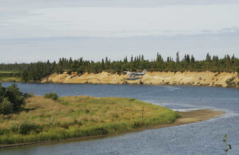 Seaplane at Alagnak Lodge.
