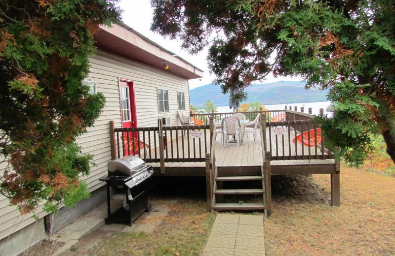 Rental exterior at Contessa Resort.