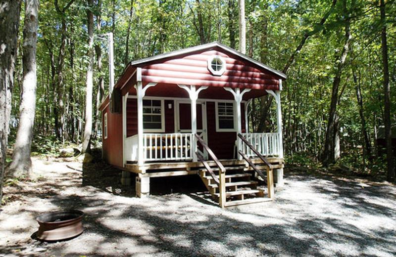 Family Cabin at Jim Thorpe Camping Resort