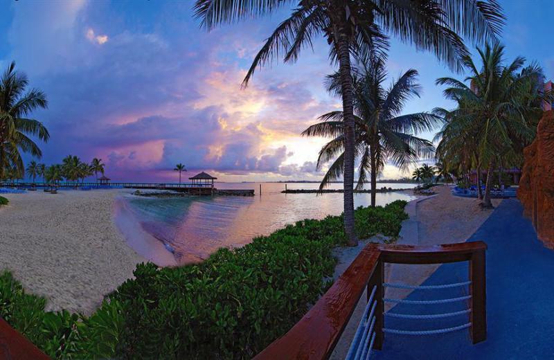 Beach at Wyndham Nassau Resort & Crystal Palace Casino.