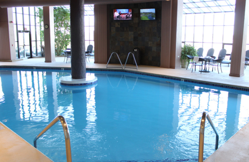 Indoor Pool At The Ridge Hotel