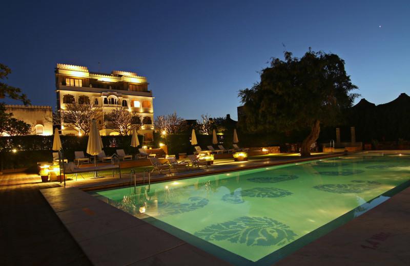 Outdoor pool at Rawla Narlai.