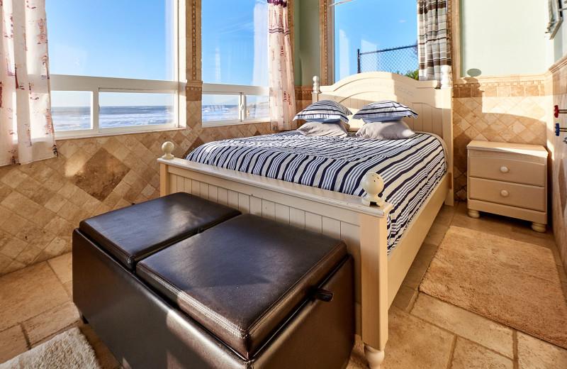 Bedroom at Admiral's Beach Retreat.