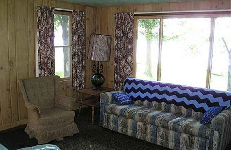 Cabin Interior at Kafka's Resort