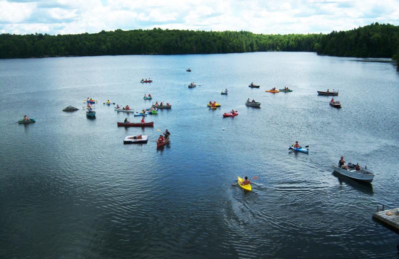 Water sport at Bonnie Lake Resort.