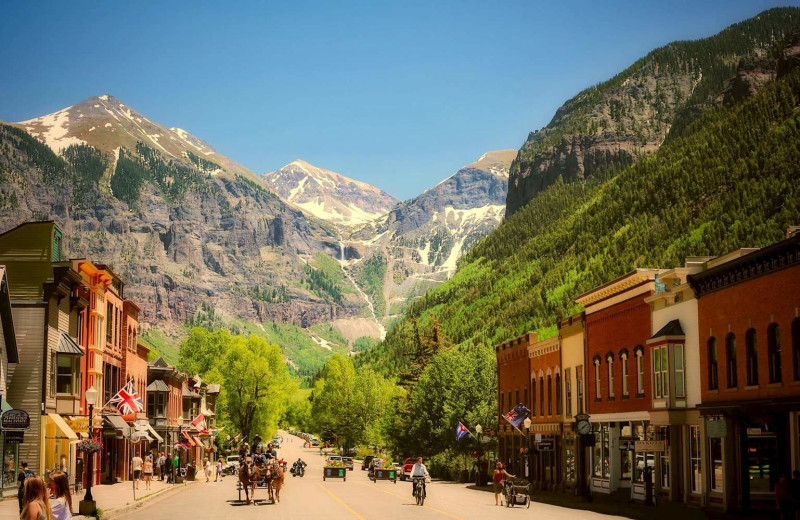 Town near Mountain Lodge Telluride.