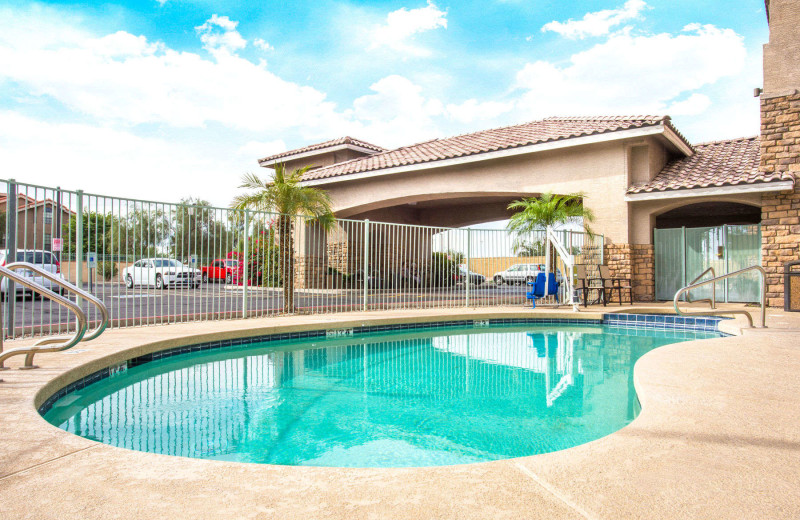Outdoor pool at Hawthorn Suites LTD. - Tempe.
