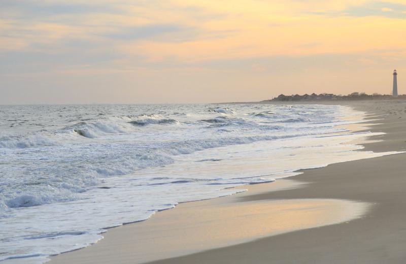 Beach at Carroll Villa.