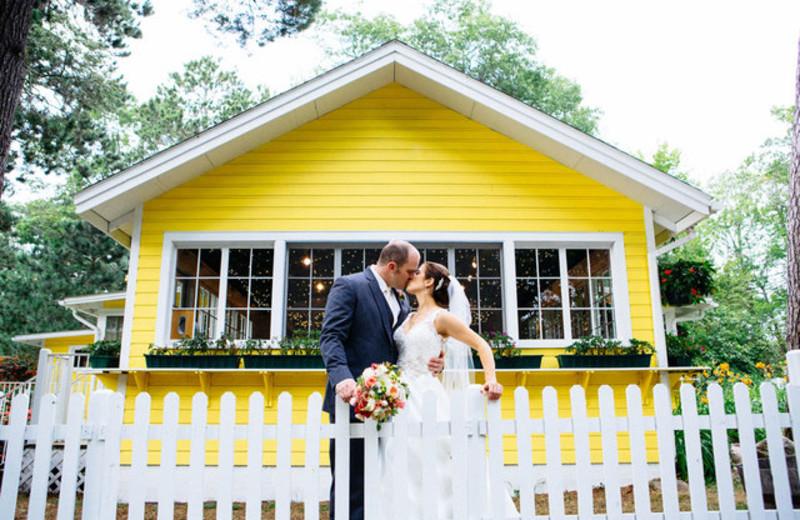 Wedding at Grand View Lodge.