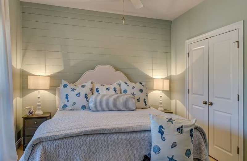 Guest room at Island Resort Management