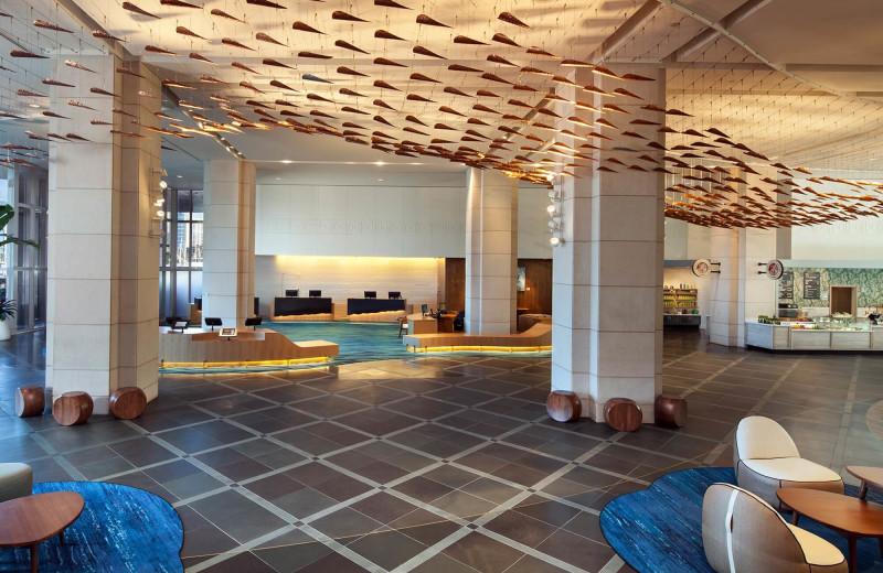 Lobby at Prince Waikiki.