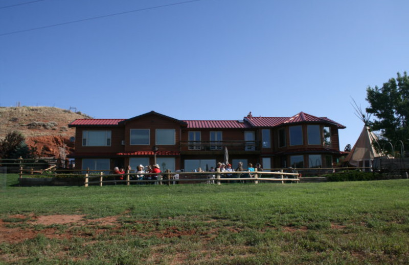 Exterior view of K3 Guest Ranch.