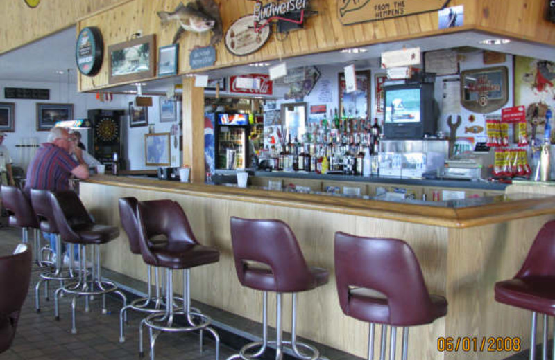Bar at Adrian's Resort.