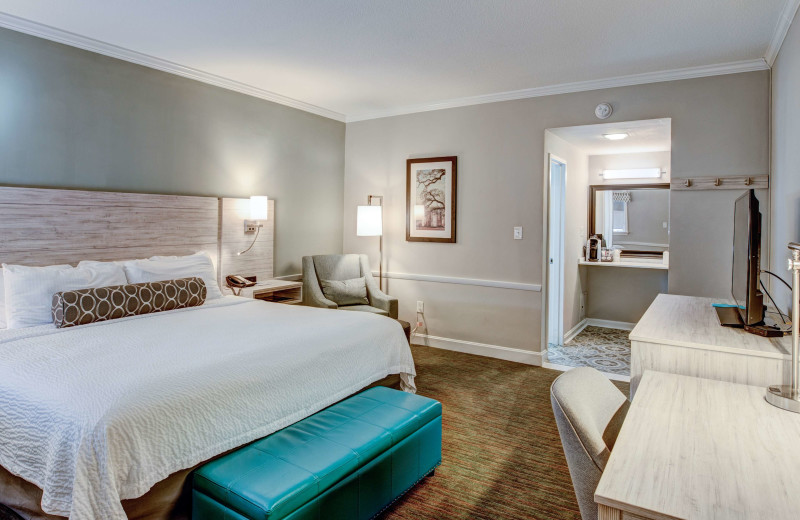 Guest room at Best Western Sea Island Inn.