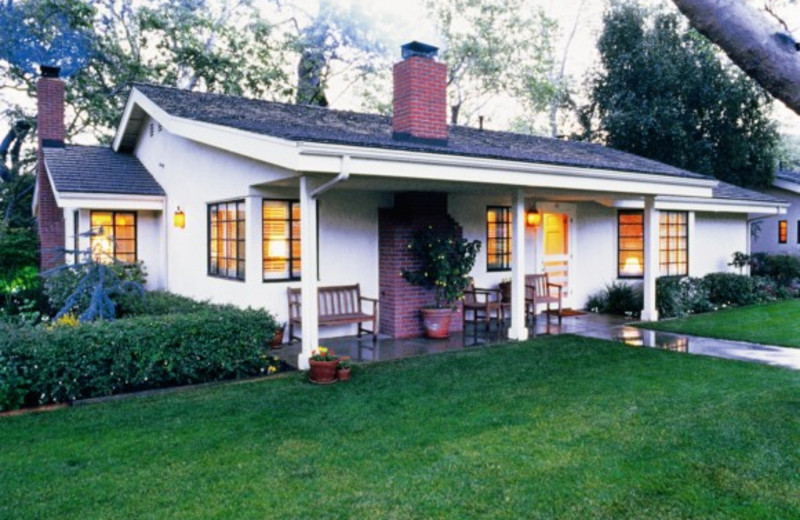 Cottage exterior at Alisal Guest Ranch and Resort.
