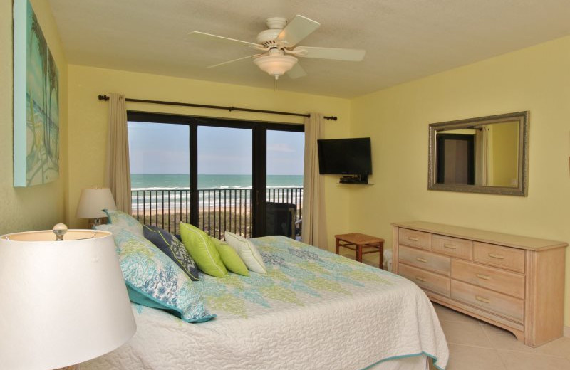 Rental bedroom at Seabreeze I.