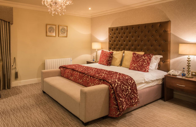 Guest room at The Inn At Dromoland.