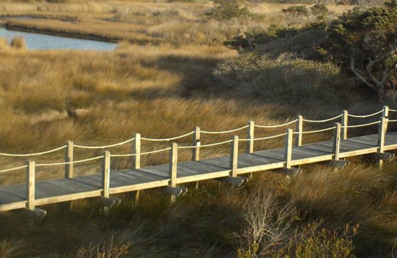 Boardwalk at The Villas of Hatteras Landing.