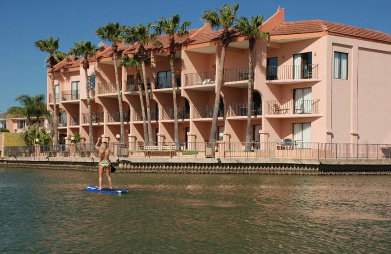 Exterior view of WindWater Hotel & Resort.