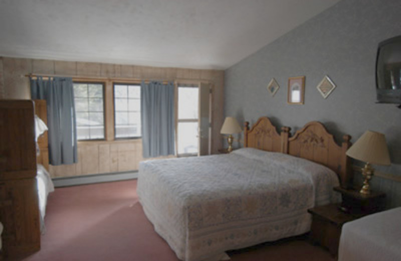 Guest room at The Summit Lodge & Resort.